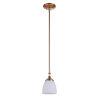 This item: Marlowe Satin Brass One-Light Mini Pendant