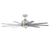 This item: Champion Brushed Polished Nickel 54-Inch LED Ceiling Fan