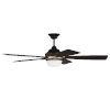 This item: Fresco Flat Black Satin Brass 52-Inch LED Ceiling Fan