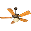 This item: Chaparral Aged Bronze Textured 52-Inch Ceiling Fan