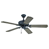 This item: Porch Fan Oiled Bronze Ceiling Fan
