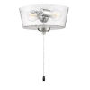 This item: Brushed Polished Nickel 11-Inch LED Fan Light Kit