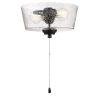 This item: Flat Black 11-Inch LED Fan Light Kit