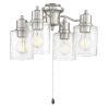 This item: Brushed Polished Nickel 17-Inch LED Fan Light Kit