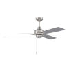 This item: Moto Brushed Polished Nickel 52-Inch Ceiling Fan