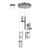 This item: Chrome Six-Light LED Pendant