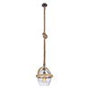 This item: Nordic Bronze 11-Inch One-Light Pendant with Cord