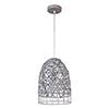 This item: Steel Gray Nine-Inch One-Light Mini Pendant