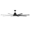 This item: Wingtip Flat Black 72-Inch Ceiling Fan
