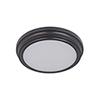 This item: Oiled Bronze Nine-Inch LED Flushmount