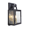 This item: Wolford Textured Matte Black Two-Light Outdoor Pocket Lantern