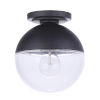 This item: Evie Midnight One-Light Outdoor Flush Mount