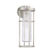 This item: Encompass Satin Aluminum Seven-Inch One-Light Outdoor Wall Sconce