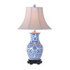 This item: Blue and White Vase Lamp