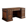 This item: Richmond Hill Cherry Morgan Executive Desk