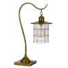 This item: Silverton Antique Brass One-Light Desk lamp