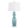 This item: Bristol Aqua and White One-Light Table Lamp