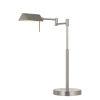 This item: Clemson Brushed Steel Integrated LED Desk Lamp