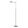 This item: Clemson Brushed Steel Integrated LED Floor lamp
