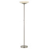 This item: Veria Brushed Steel Integrated LED Floor Lamp