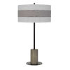 This item: Jumilla Gray and Black One-Light Table lamp