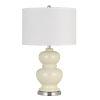 This item: Bergamo Ivory White One-Light Table lamp
