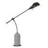 This item: Johnstone Black and Cement One-Light Desk lamp