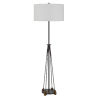 This item: Bellewood Textured Bronze One-Light Floor lamp