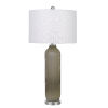 This item: Catalina Gray and White One-Light Table lamp