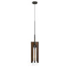 This item: Almeria Pine and Iron One-Light Mini Pendant