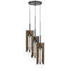 This item: Almeria Pine and Iron Three-Light Pendant