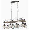 This item: Forio Pine and Iron Eight-Light Chandelier