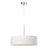 This item: White and Chrome LED Pendant