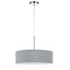 This item: Gray and Chrome LED Pendant