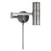 This item: Gun Metal LED Swing Arm Wall lamp