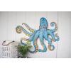 This item: Blue Metal Octopus Wall Hanging
