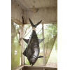 This item: Brown Three Dimensional Tuna Fish Wall Decor With Sisal Rope