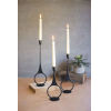 This item: Black Cast Iron Taper Candle Holder, Set of Three