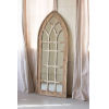 This item: Brown Arched Mirror