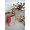 This item: Beige Oval Wicker Basket, Set of Two