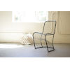 This item: Metal Woven Dining Chair