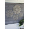 This item: White Handmade Paper Disc Wall Art, Set of 4