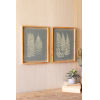 This item: Multi-Colored Fern Print Under Glass Wall Art, Set of 2