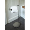 This item: Brown Bathroom Toilet Paper Stand