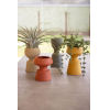 This item: Multicolor Handmade Clay Vase. Set of Four