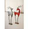 This item: Multicolor Recycled Iron Deer, Set of 2