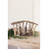 This item: Natural Wooden Nativity Tabletop Decor