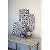 This item: Set of Three Grey Wash Square Woven Split Wood Baskets