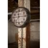 This item: Black and White Metal New York Clock