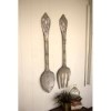 This item: Rustic Large Metal Fork and Spoon Wall Decor, Set of 2